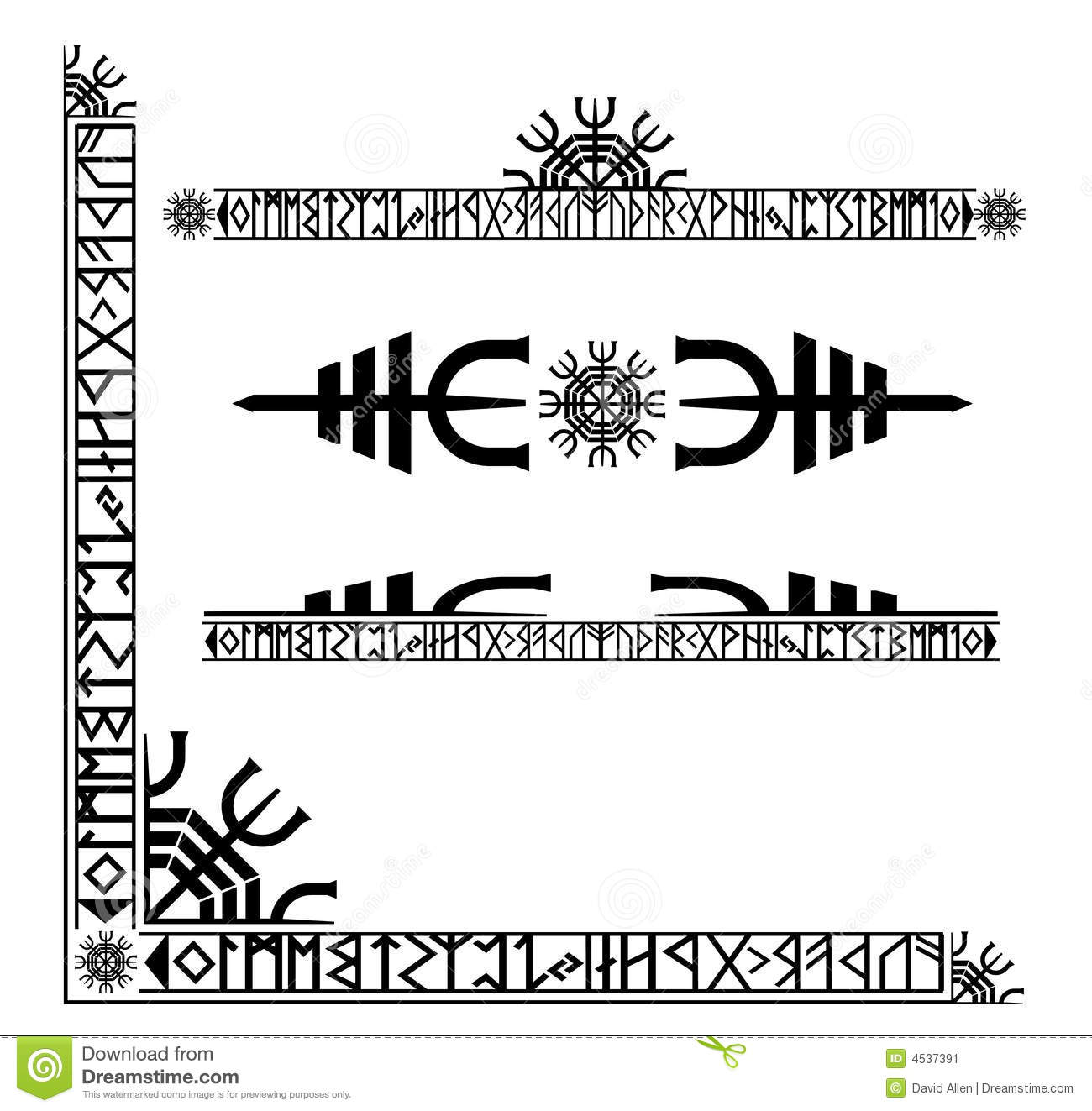 Viking Runes Tattoo Designs Keywords And Pictures