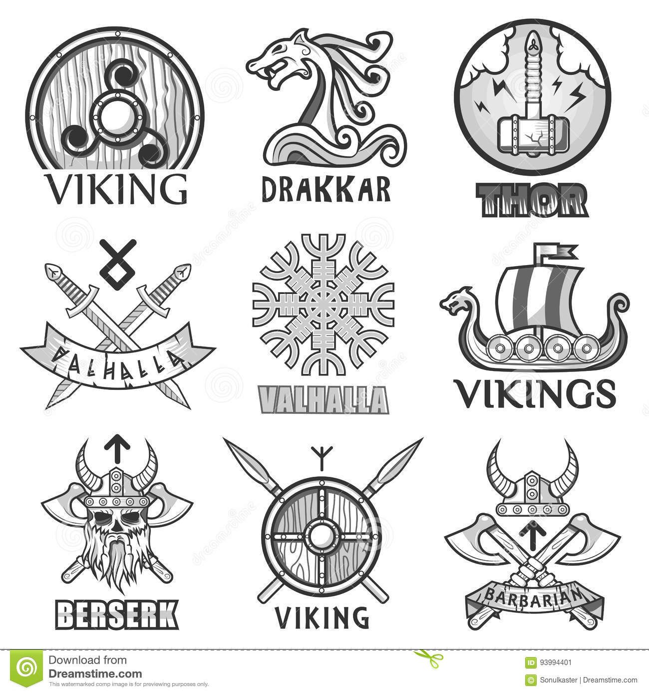 Viking symbols of war images for Ancient scandinavian designs