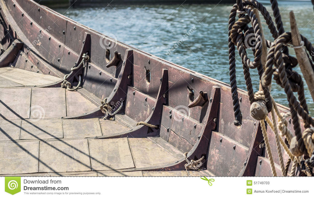 Viking ship deck stock image. Image of construction, pagan - 51749703