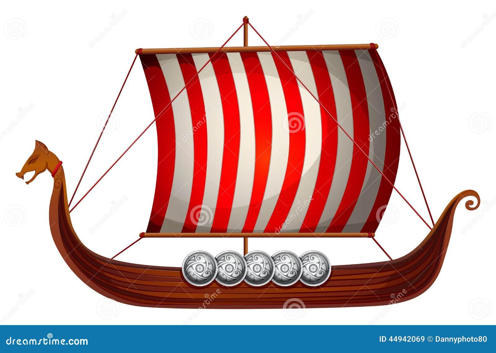 Viking Ship Art Images