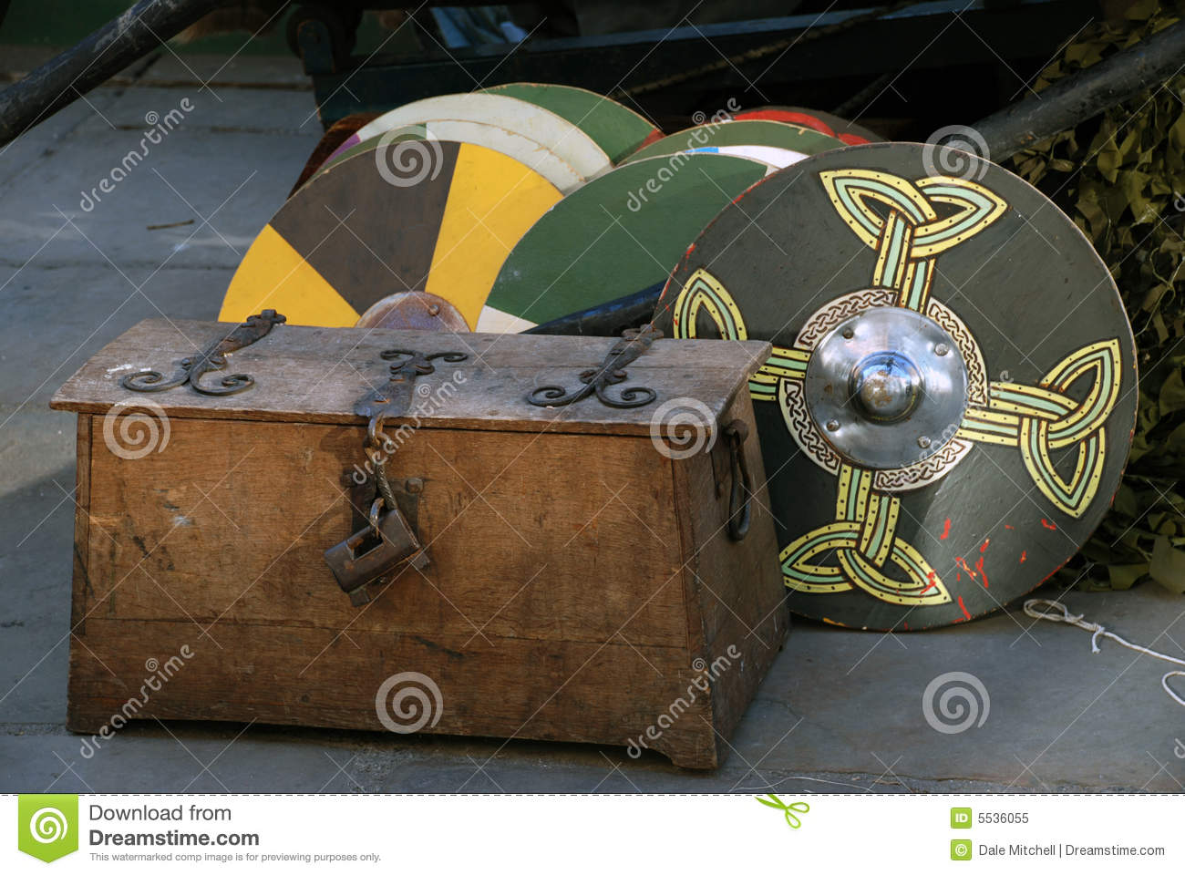 viking war shields stock image image of helmet journey