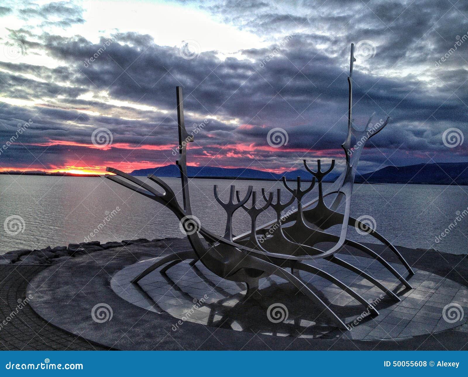 Vikings Boat, Reykjavik, Iceland