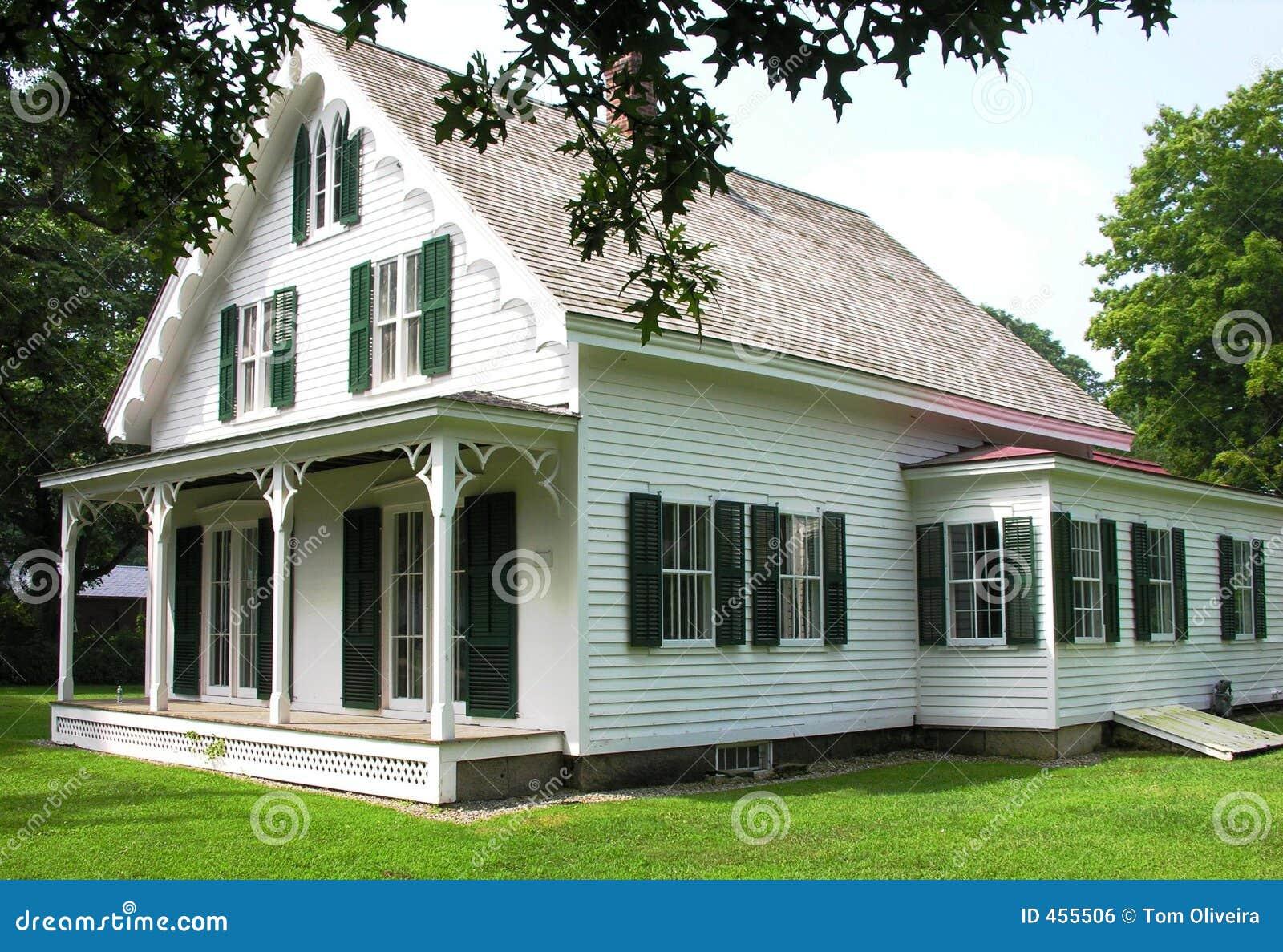 Viktorianisches Haus stockfoto Bild von häuser