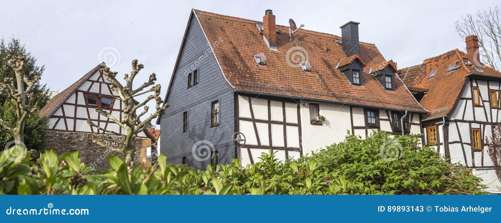Vila Alemanha do taunus do am do hofheim