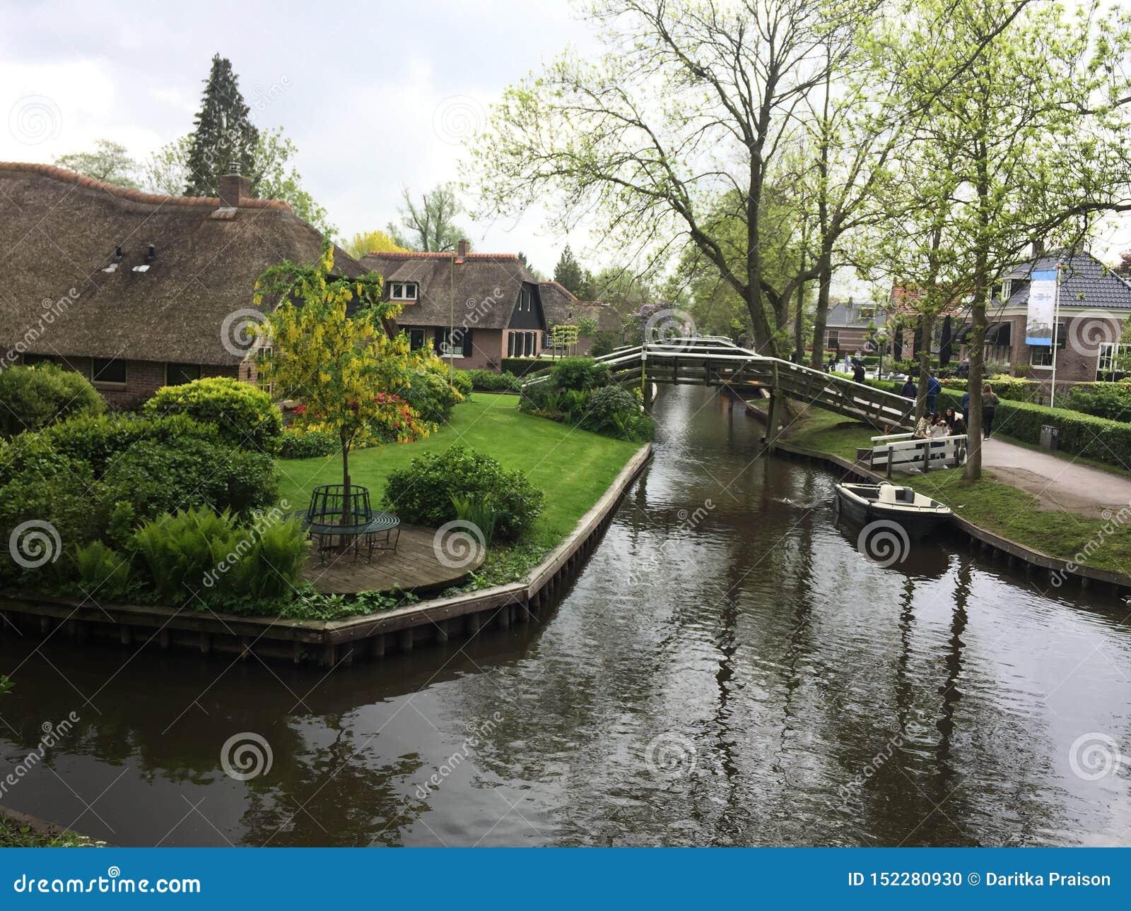 Vila de Giethoorn, Veneza dos Países Baixos