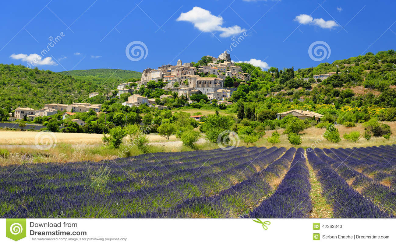 Vila de Joucas em Provence