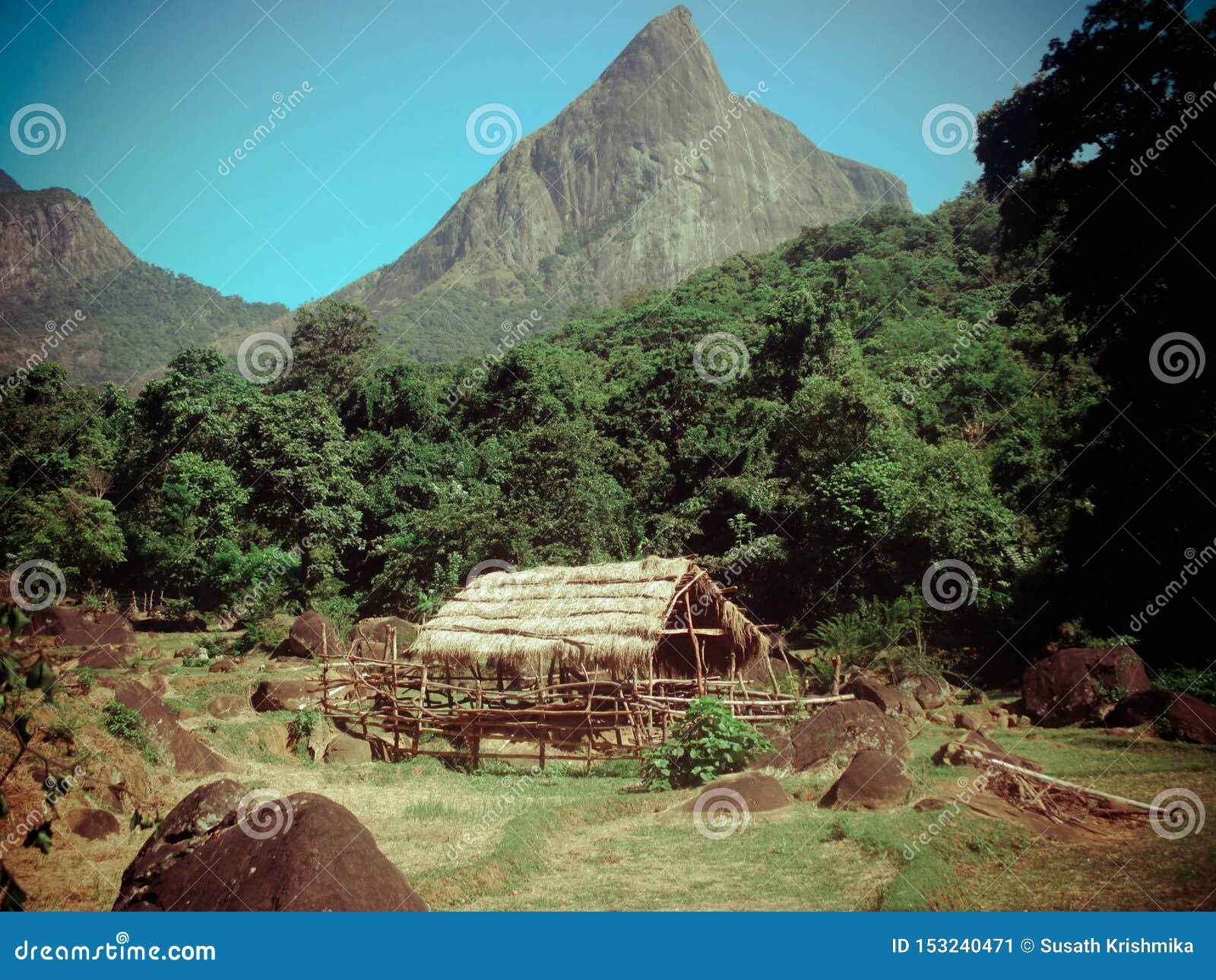 Vila de Meemure em Sri Lanka