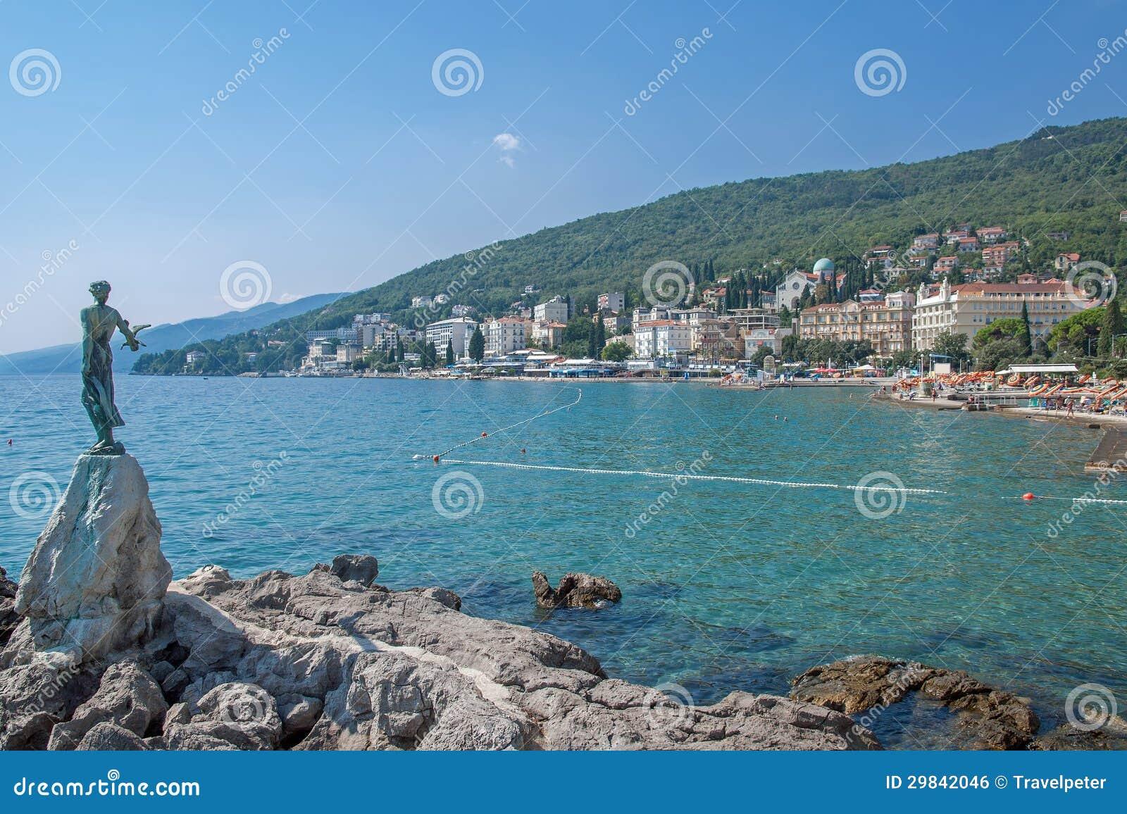 Opatija, mar de adriático, Istria, Croatia
