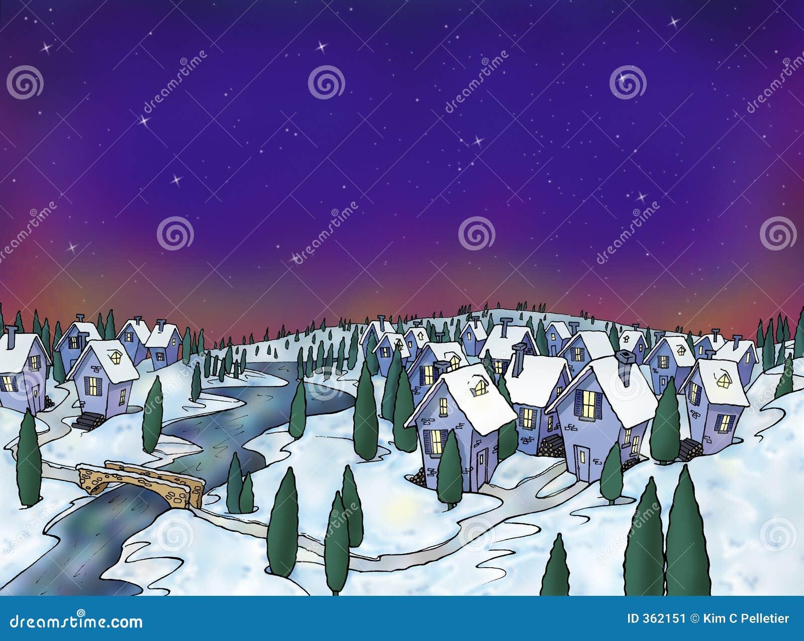 Vila do inverno