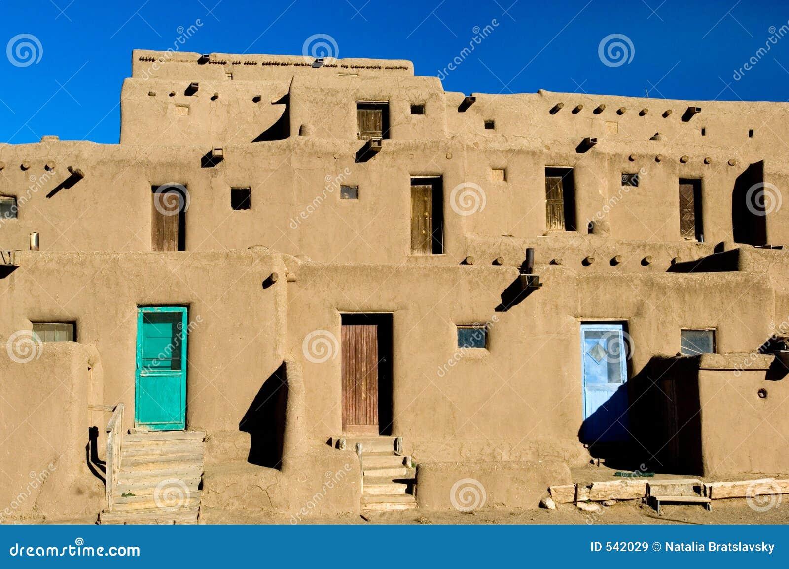 Vila do povoado indígeno
