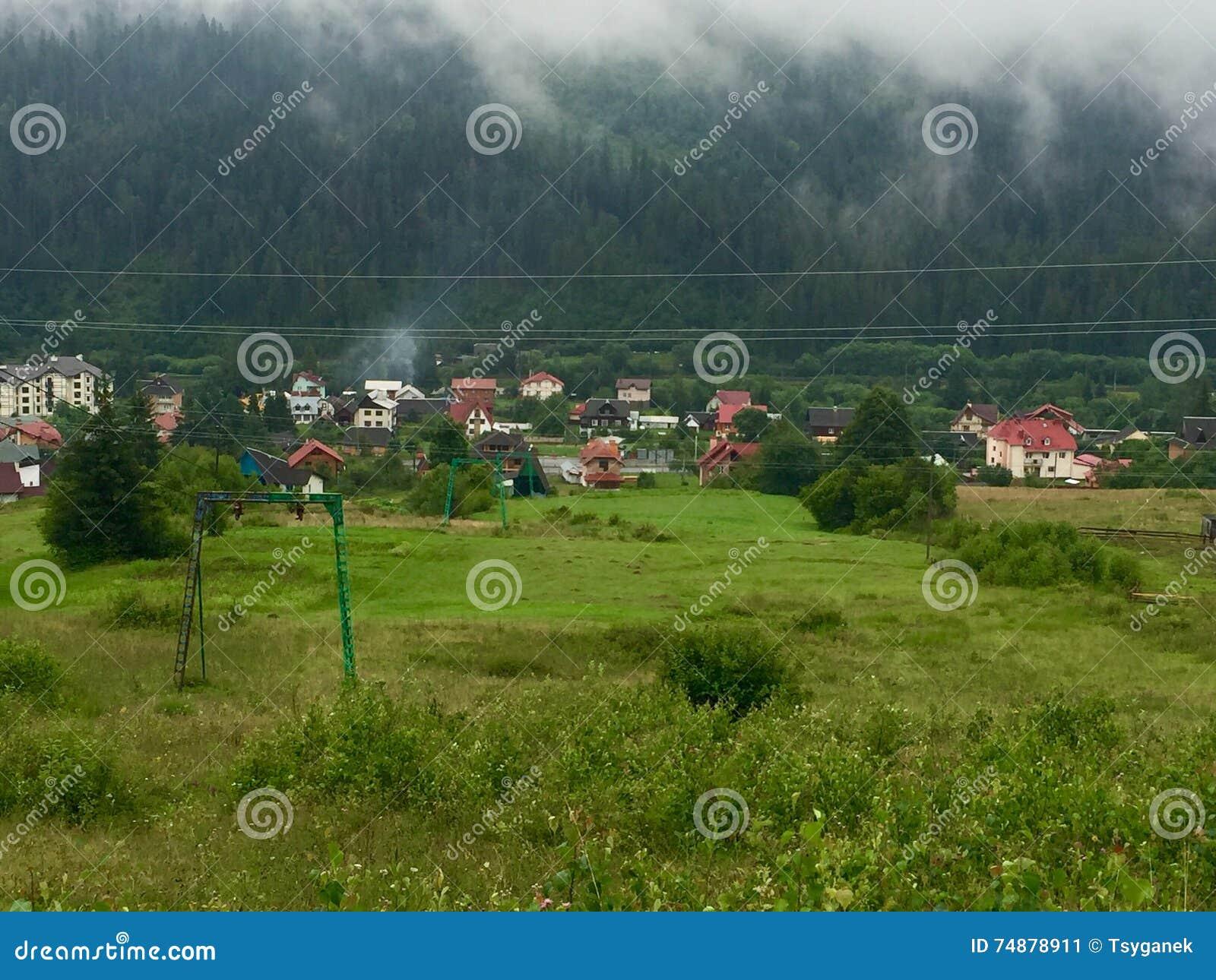Vila em Carpathians, Ucrânia
