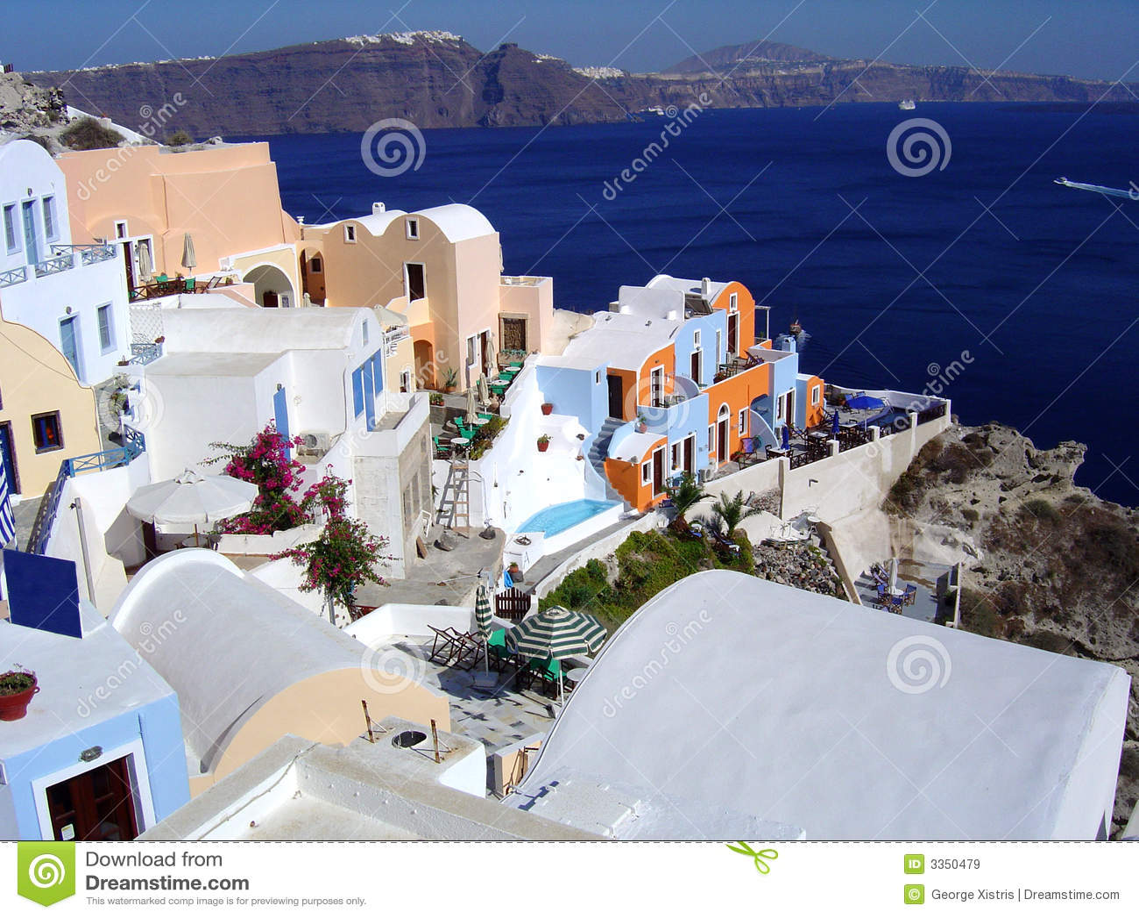 Vila em Santorini, Greece