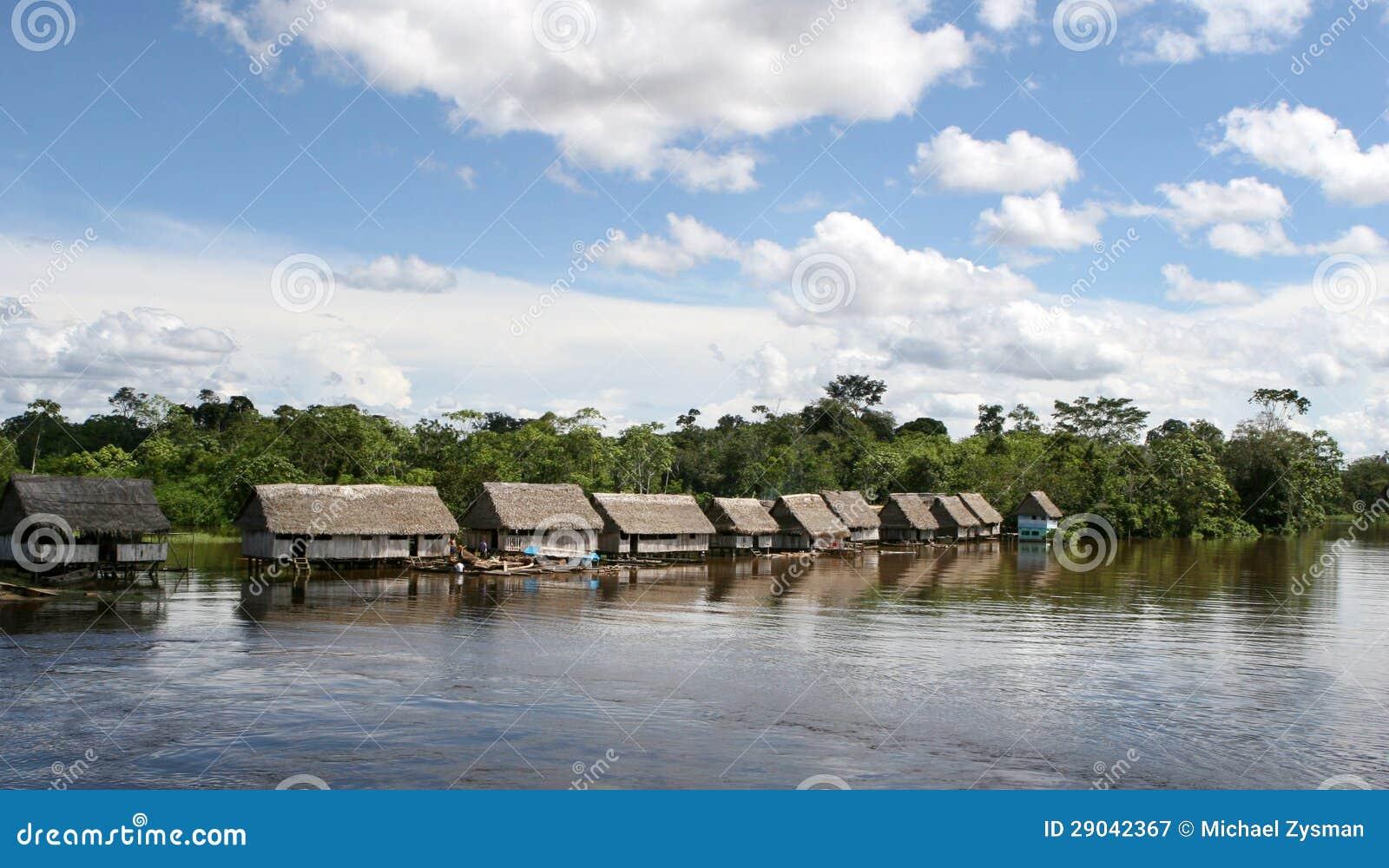 Vila nativa de Peru