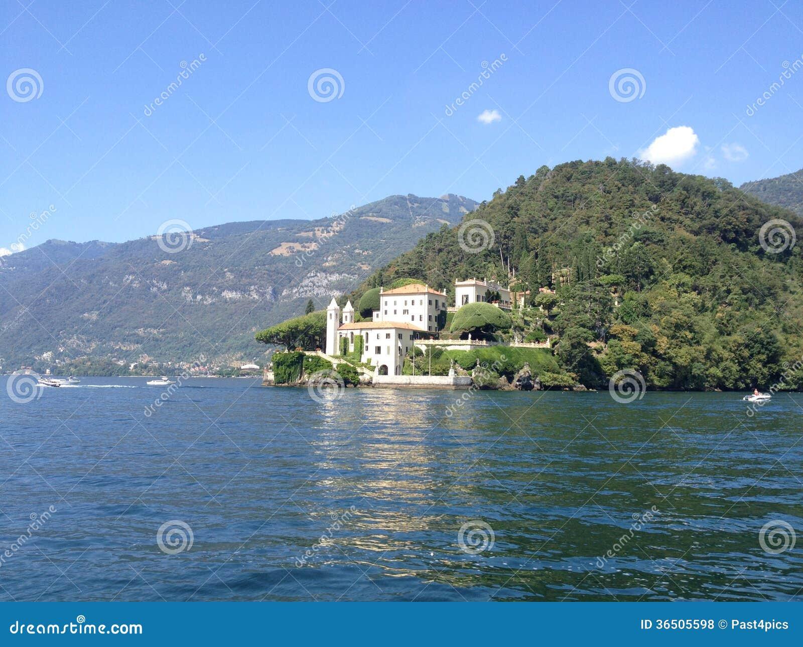 Villa Balbianello - lac Como, Italie