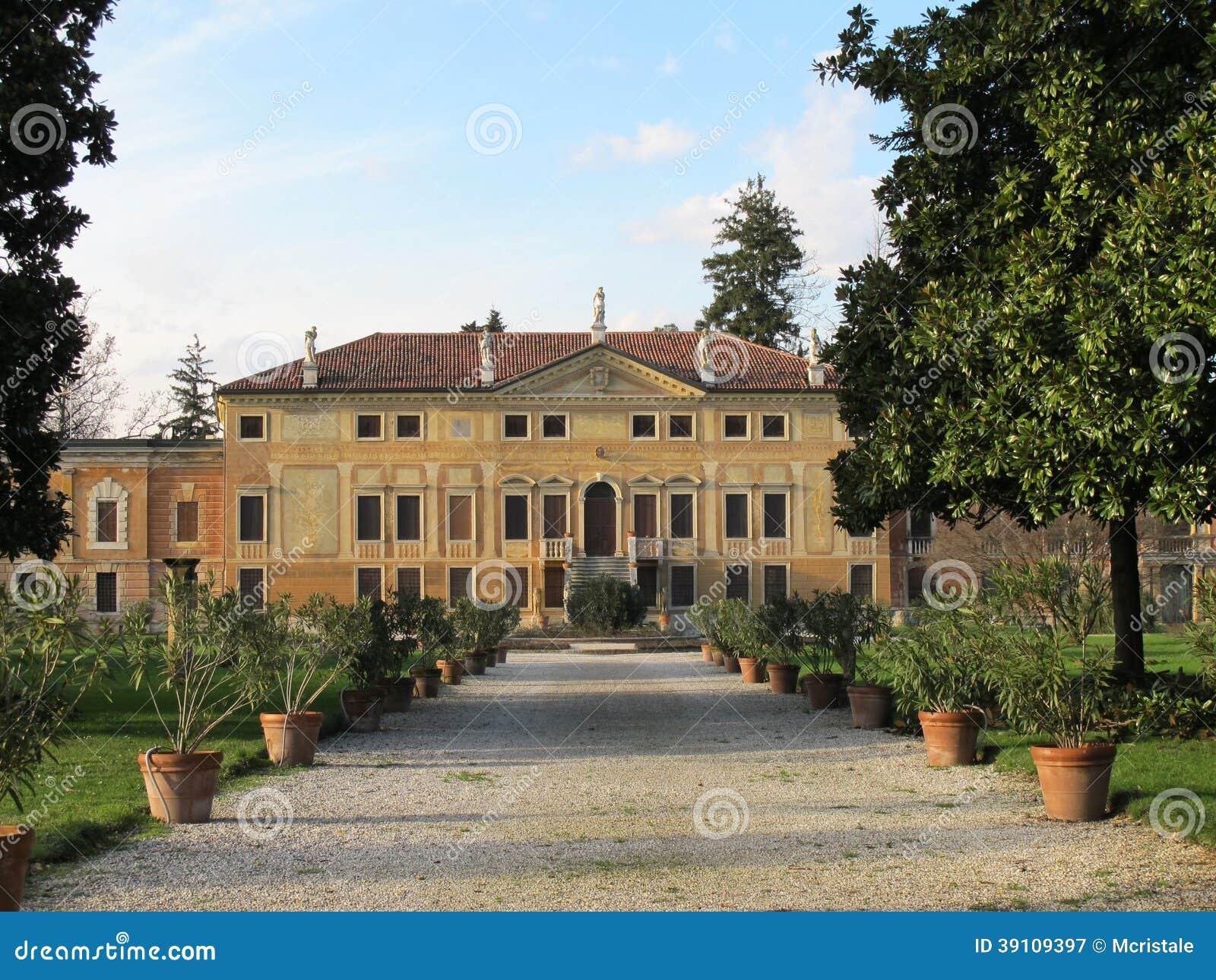 Villa Bissari Curti. Vicenza, Italië