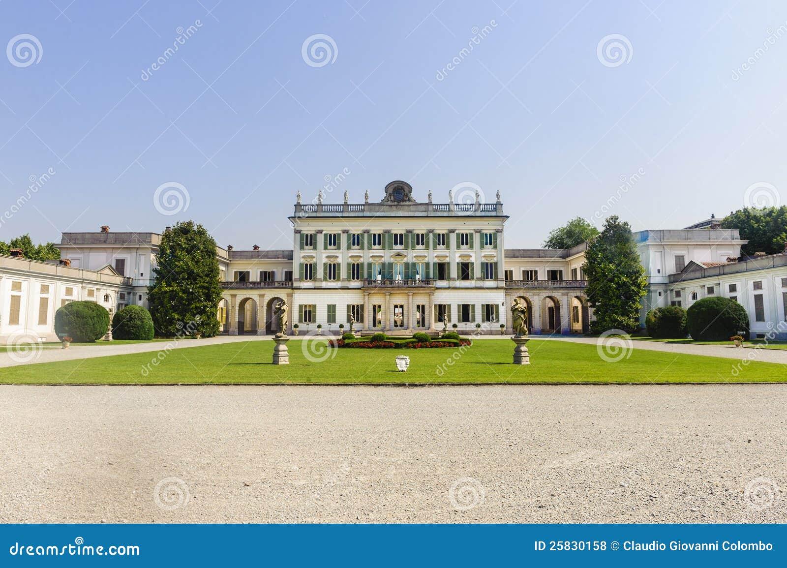 Villa Borromeo på den Cassano d Addaen (Milan)