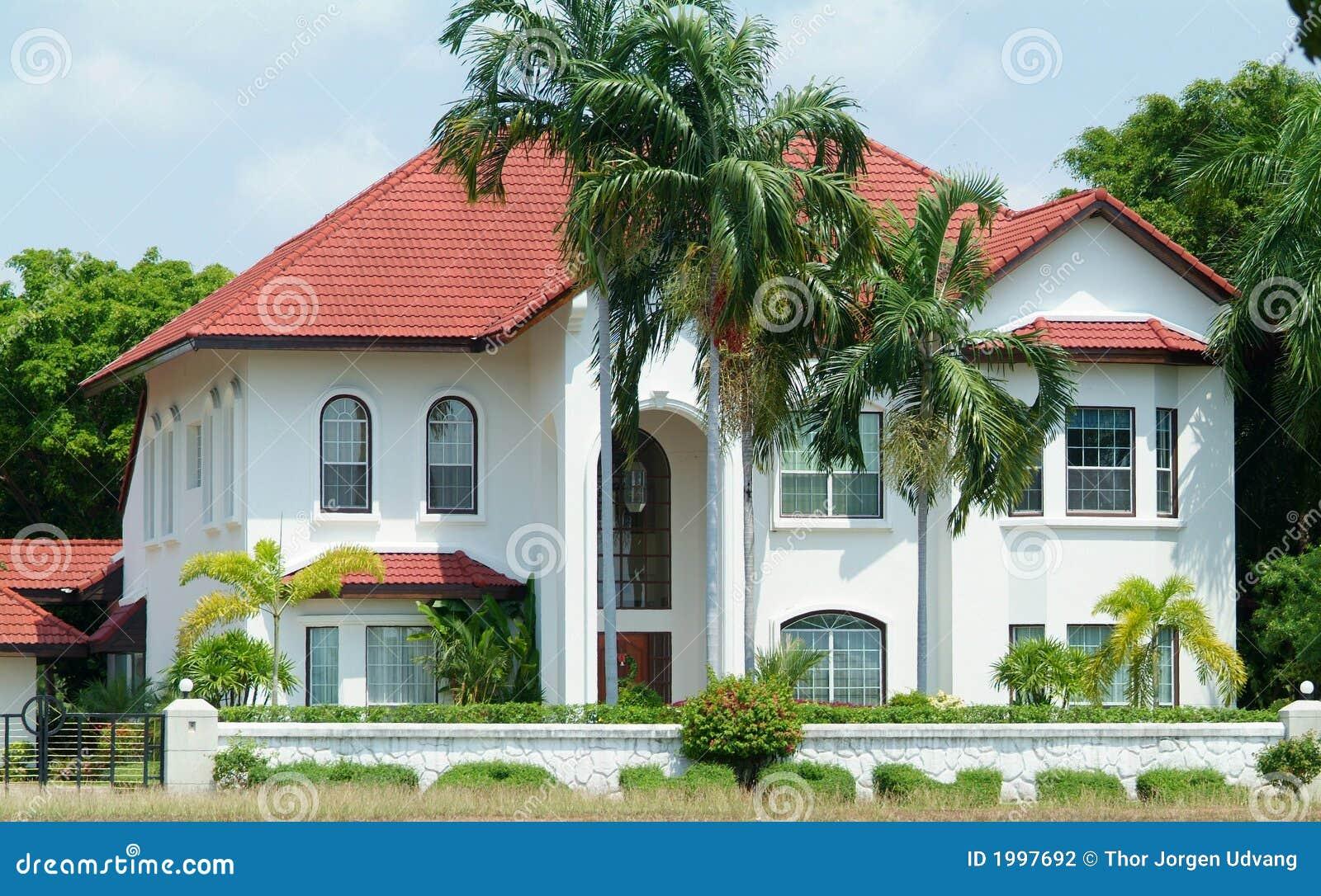 Plan Villa De Luxe  Villa de luxe blanche dans le climat tropical