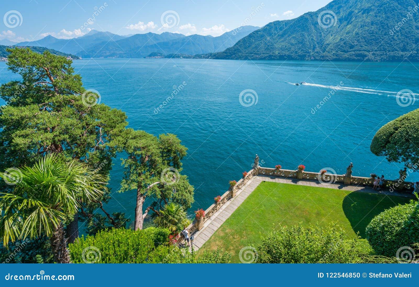 Villa del Balbianello, famous villa in the comune of Lenno, overlooking Lake Como. Lombardy, Italy.