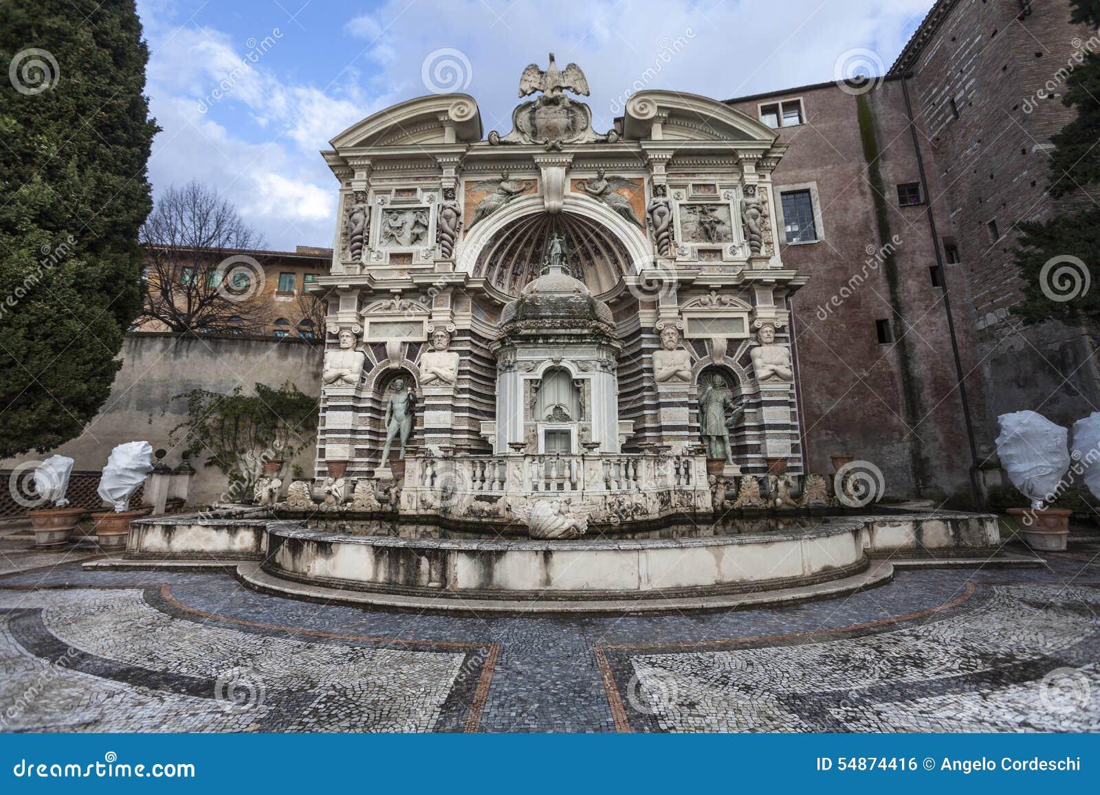 Villa DEste, Tivoli de fontaine d organe (dellOrgano de Fontana) l Italie
