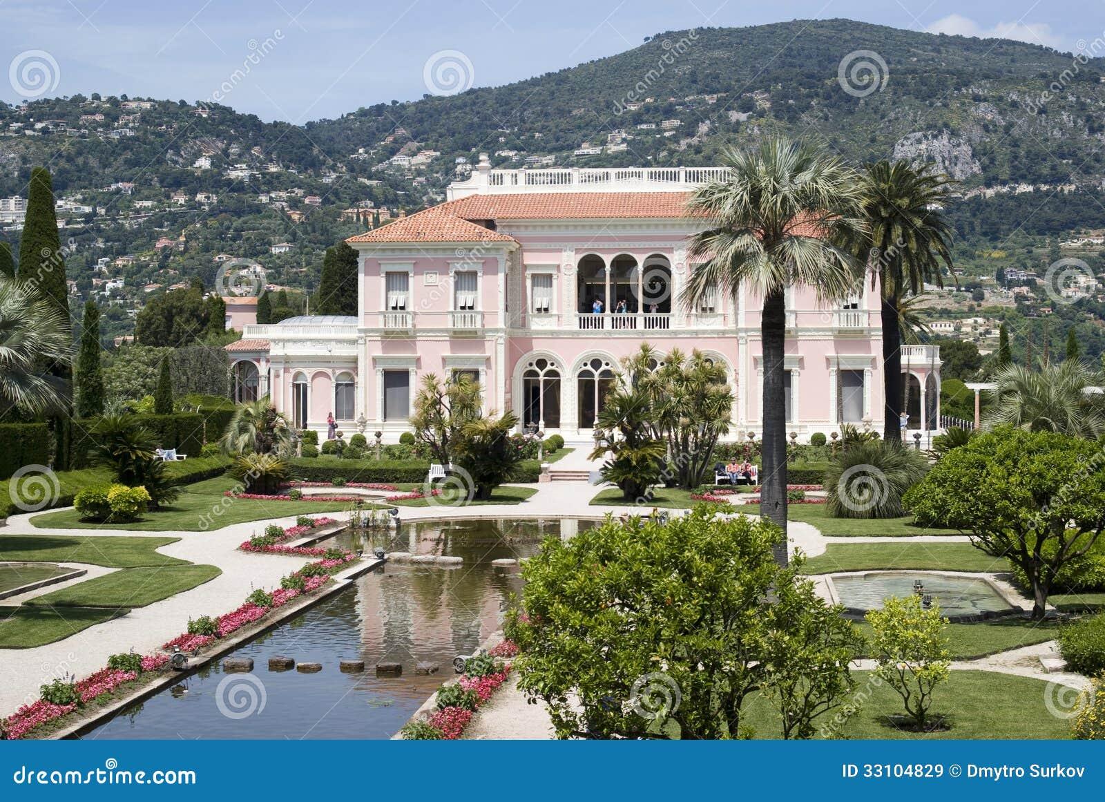 Villa Ephrussi de Rothschild, franska Riviera