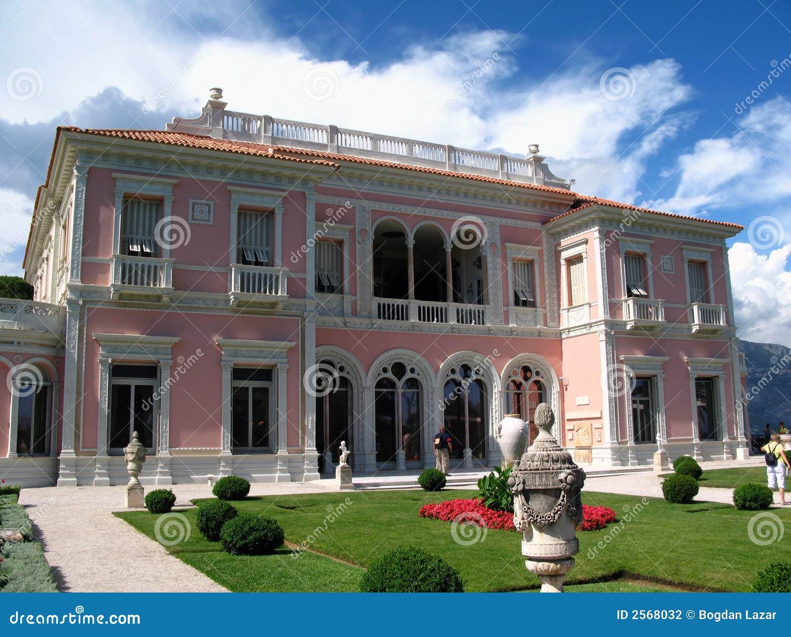 Villa Ephrussi Rothschild Near Nice France Stock Photo