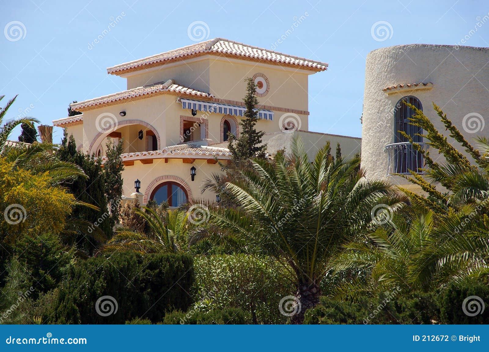 Villa hiszpańska