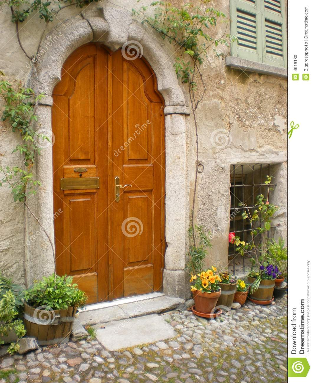 Tuscan Villa House Plans Villa Italy Tuscany Arched Door Stock Photo Image 4919180