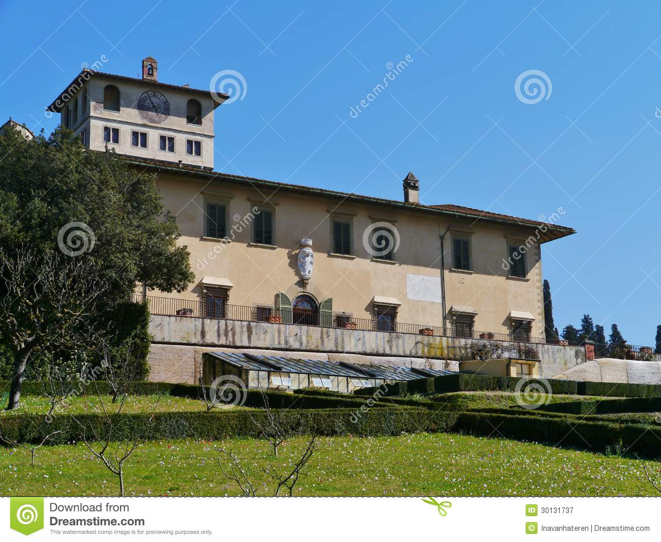 Palace in Castello in Italy