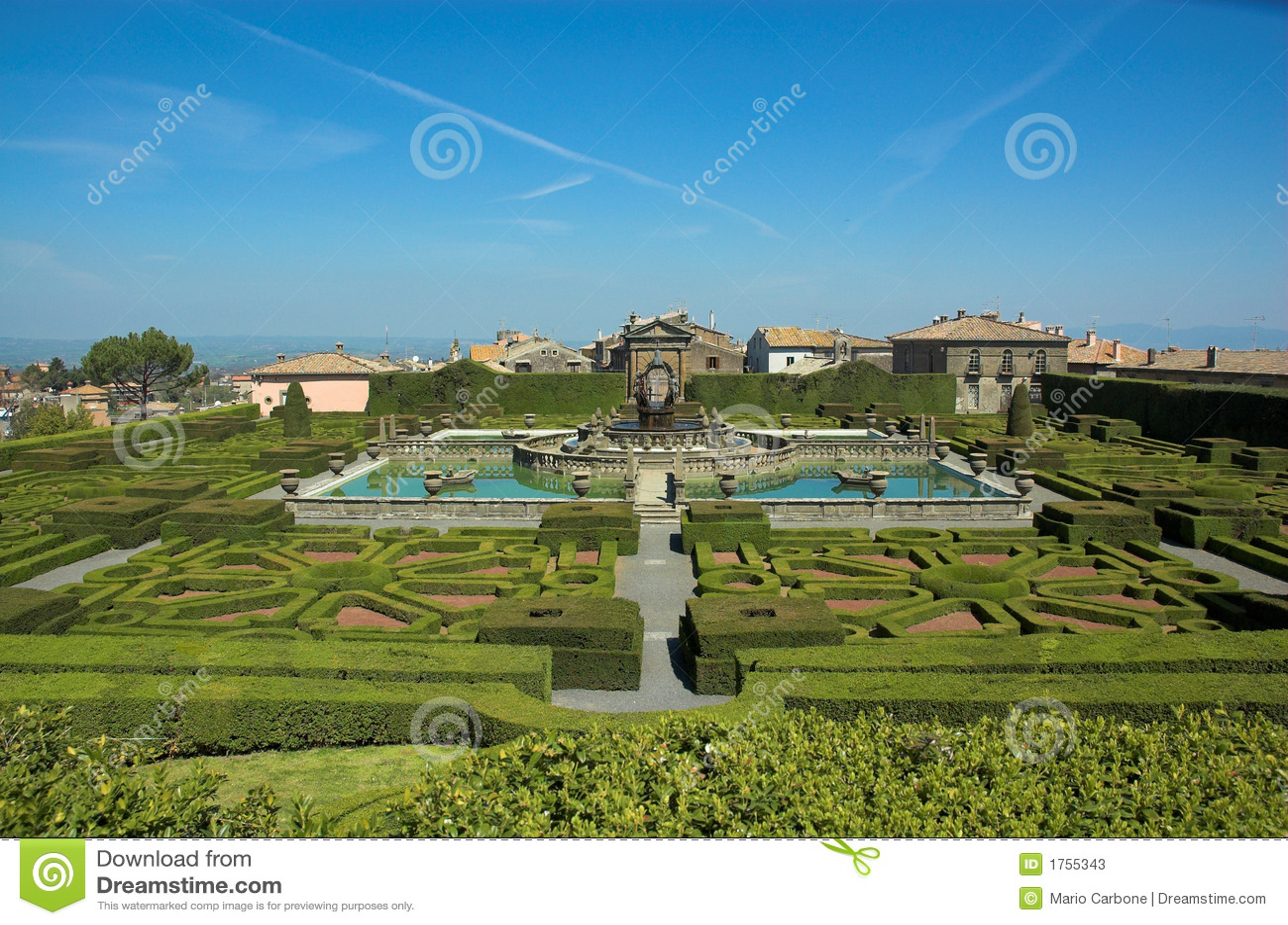 Villa Lante, jardins italiens