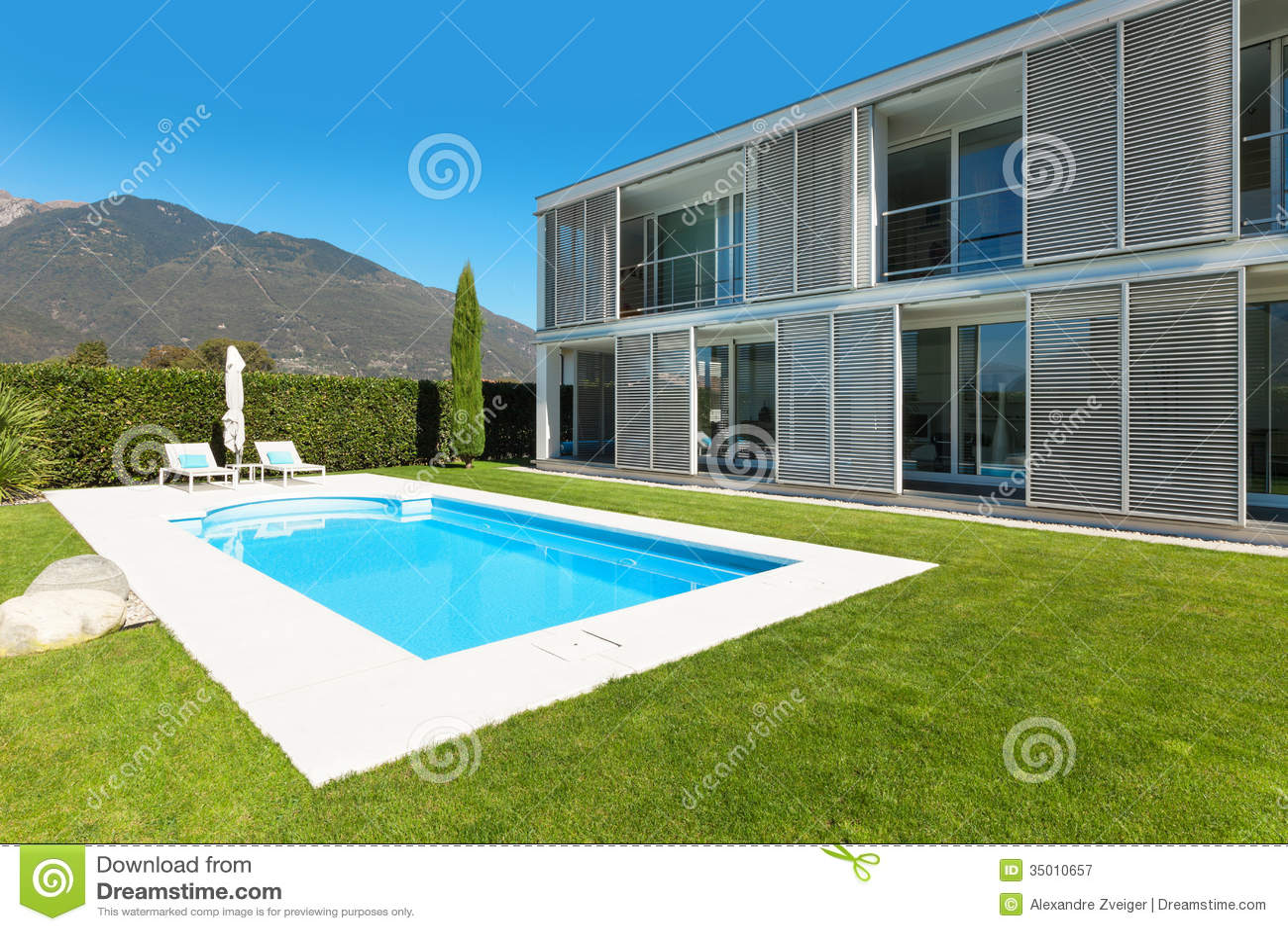 plan de villa moderne avec piscine meilleure inspiration pour votre design de maison