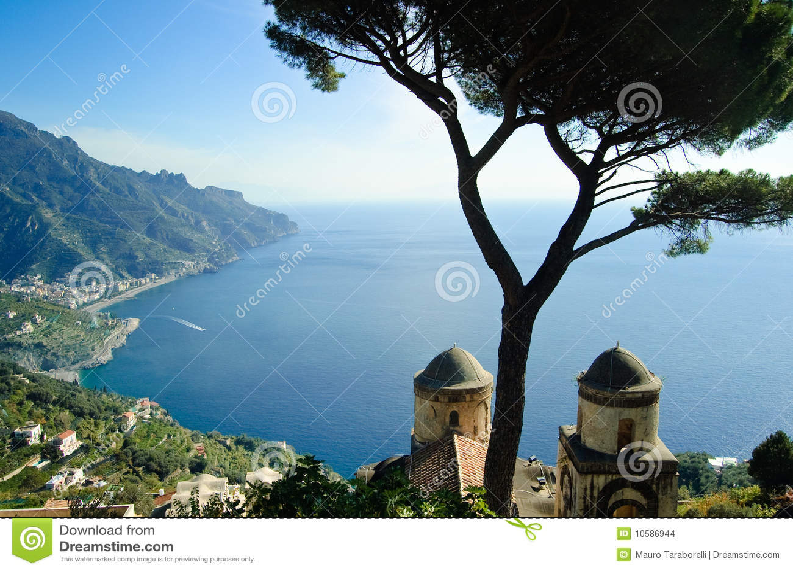 Villa rufolo dans ravello italie images stock image for Dans italien