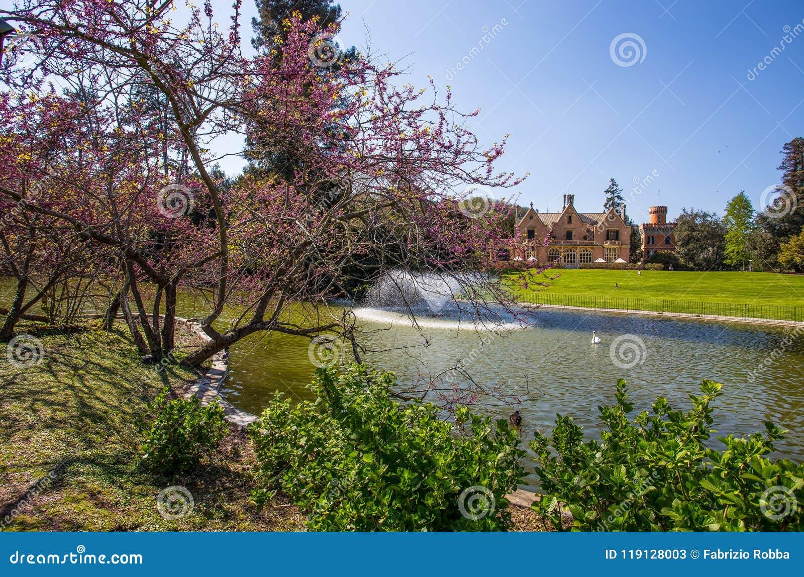 Villa Serra di Comago公园,热那亚赫诺瓦,意大利