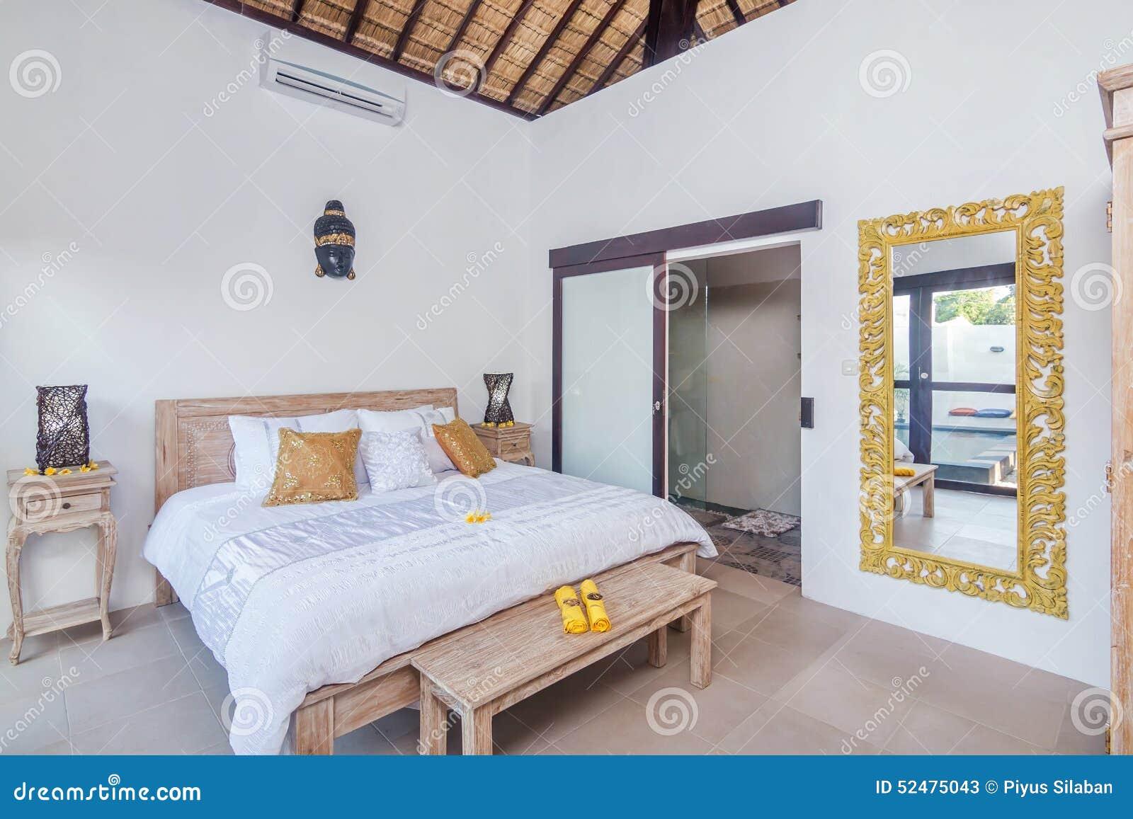Camere Da Letto Tradizionali : Villa tradizionale ed antica della camera da letto in bali
