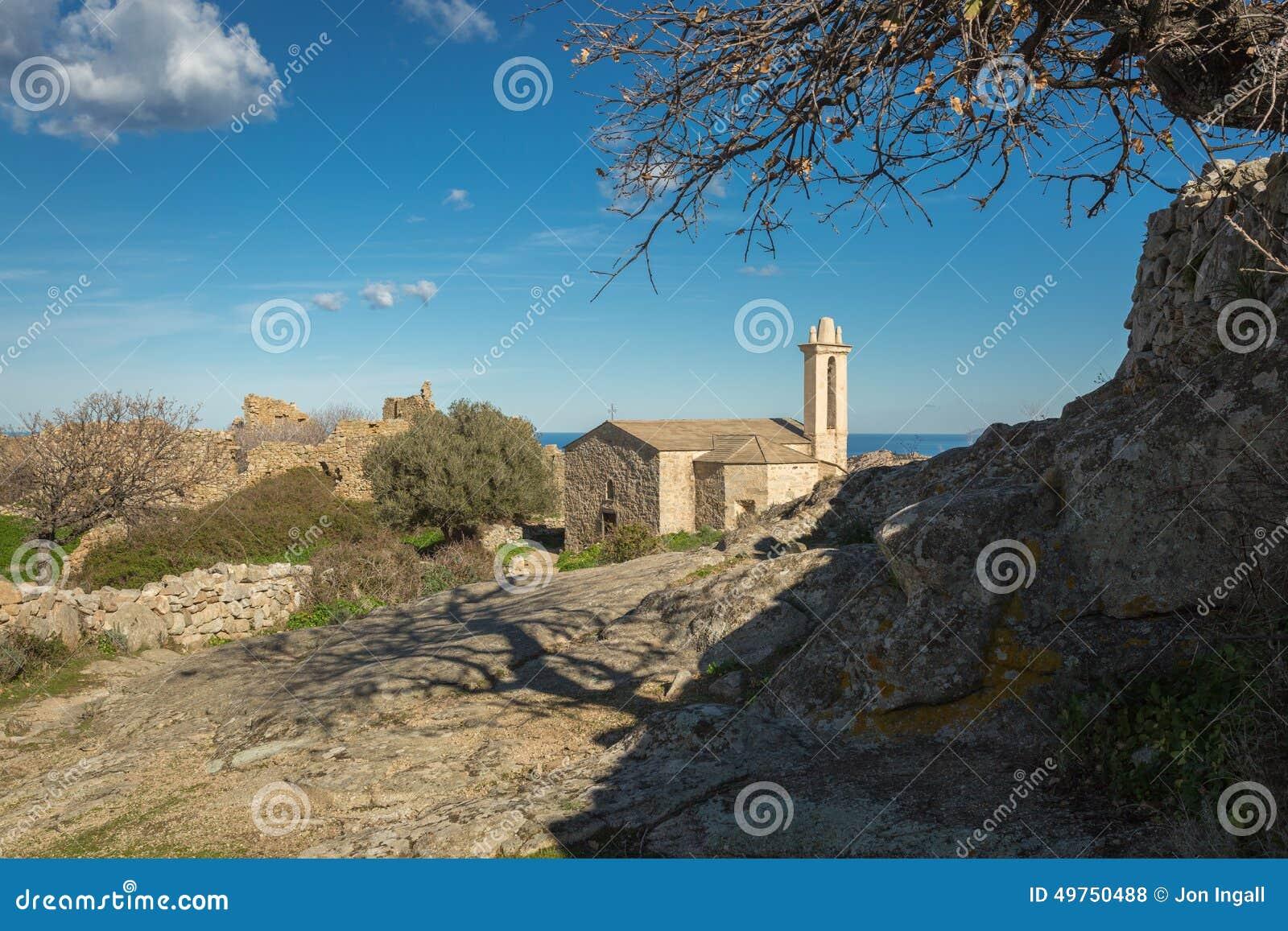 Village abandonn d 39 occi pr s de lumio en corse photo stock image 4975 - Achat village abandonne ...
