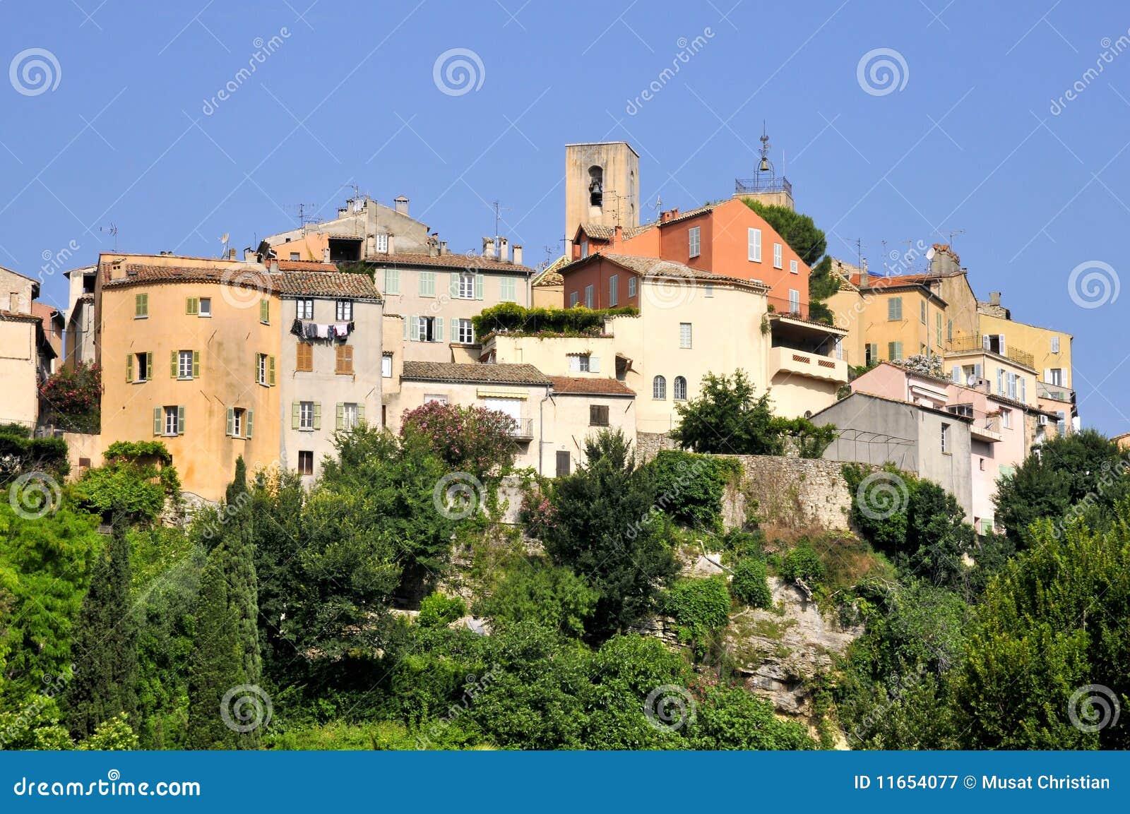 Village of Biot in France
