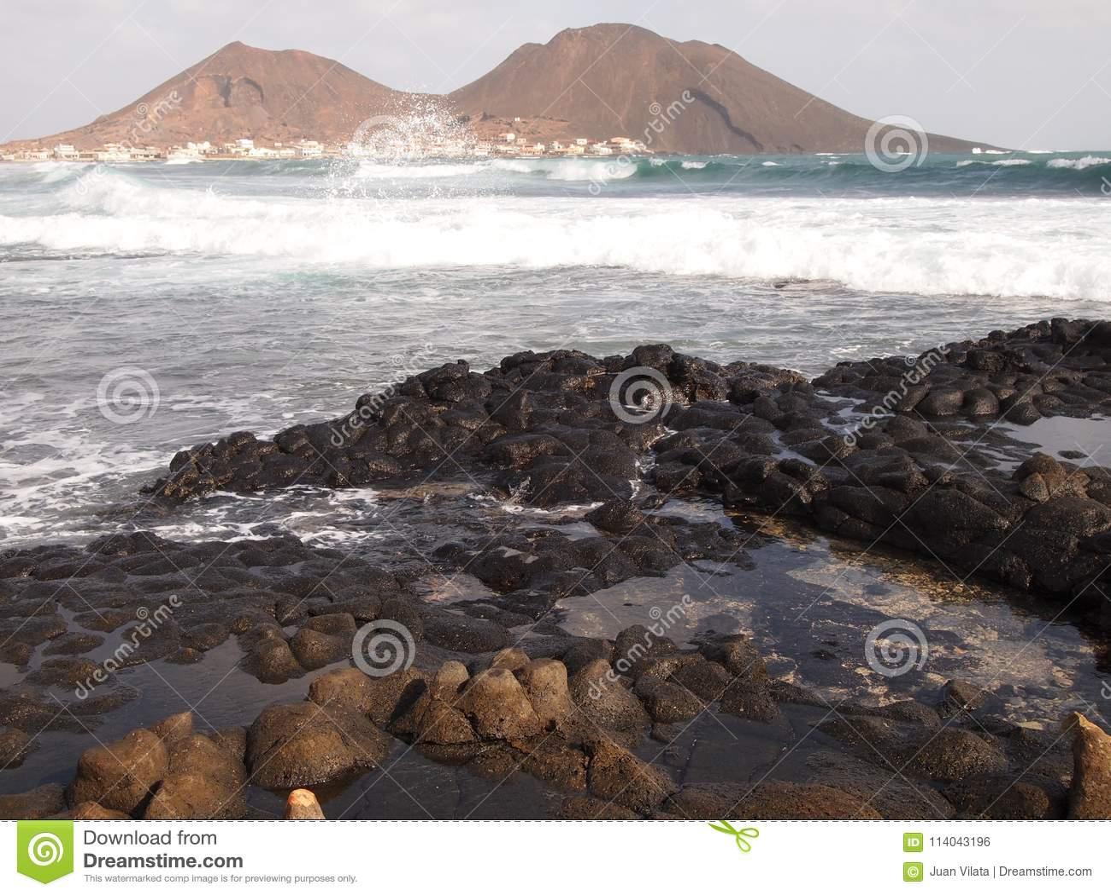 super qualité beauté 2019 real The Village Of Calhau In Sao Vicente, One Of The Cape Verde ...
