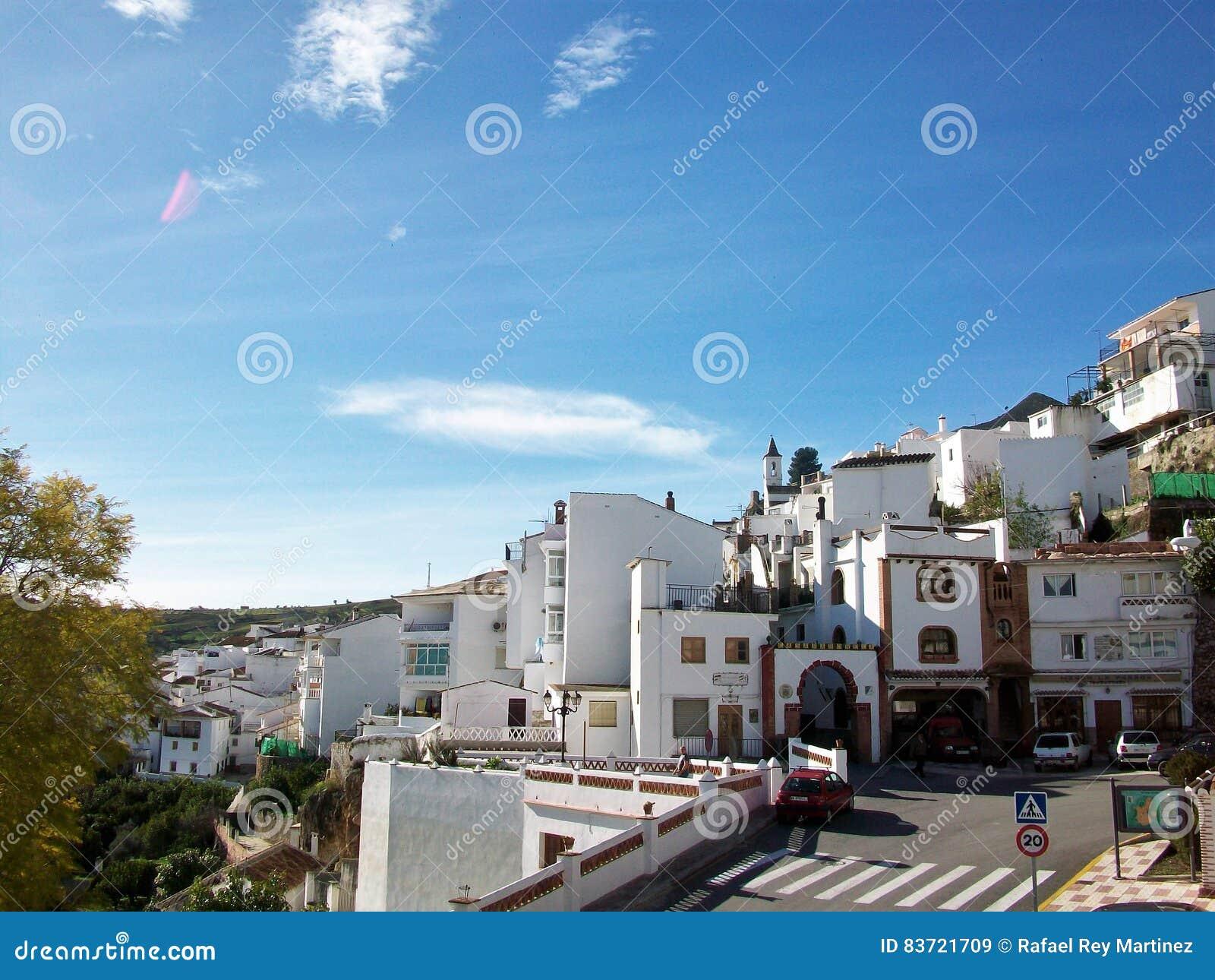Village Of Casarabonela-Andalusia-Spain-Europe Editorial Stock Image
