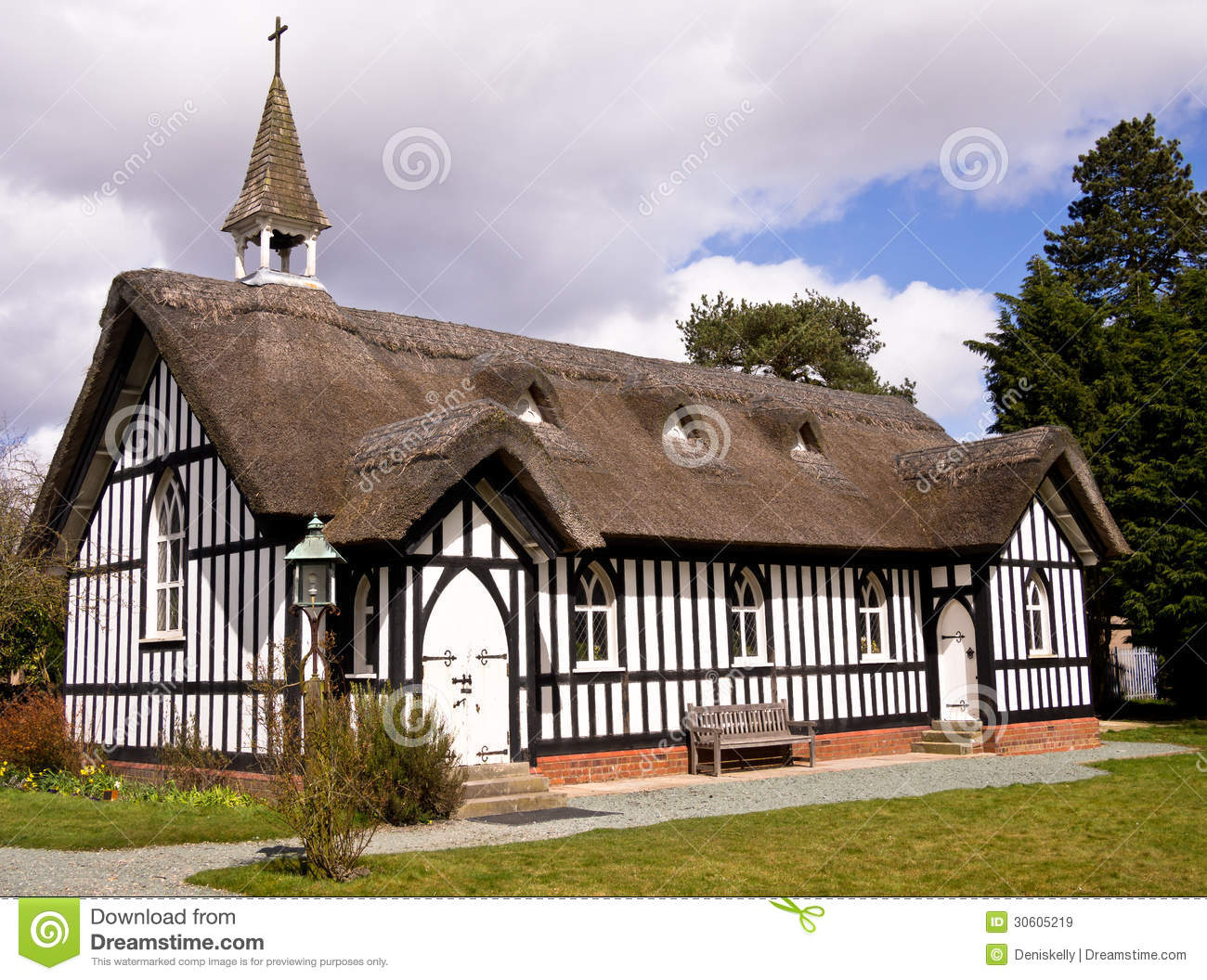 Village Church England Royalty Free Stock Images Image