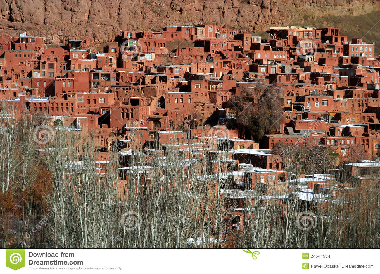 Village d Abyaneh