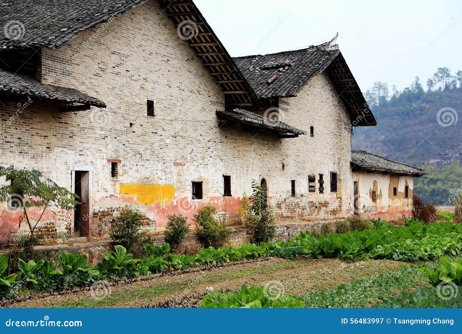Village de culture de Donghuping en Chine