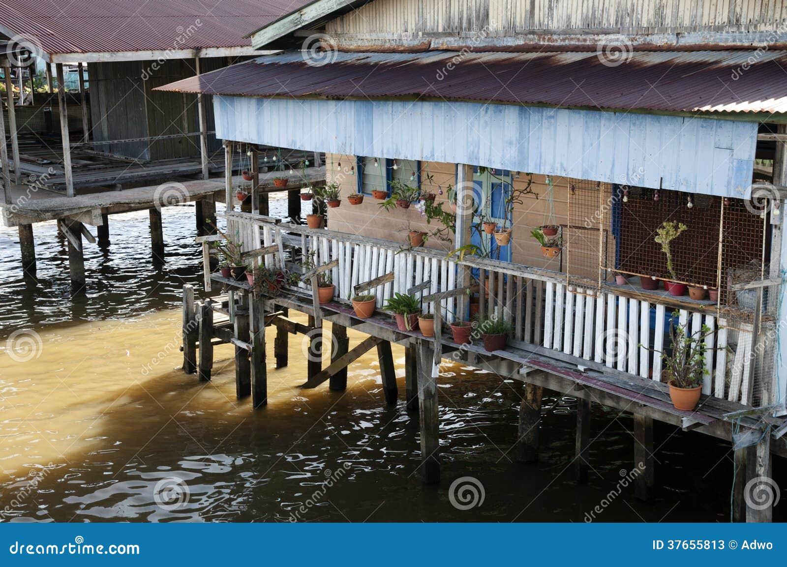 Village de l eau - Brunei