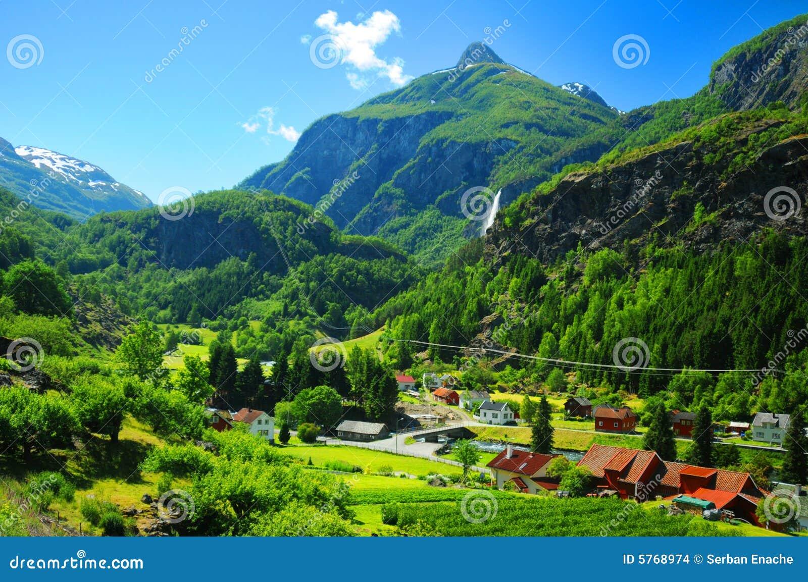 Village de la Norvège