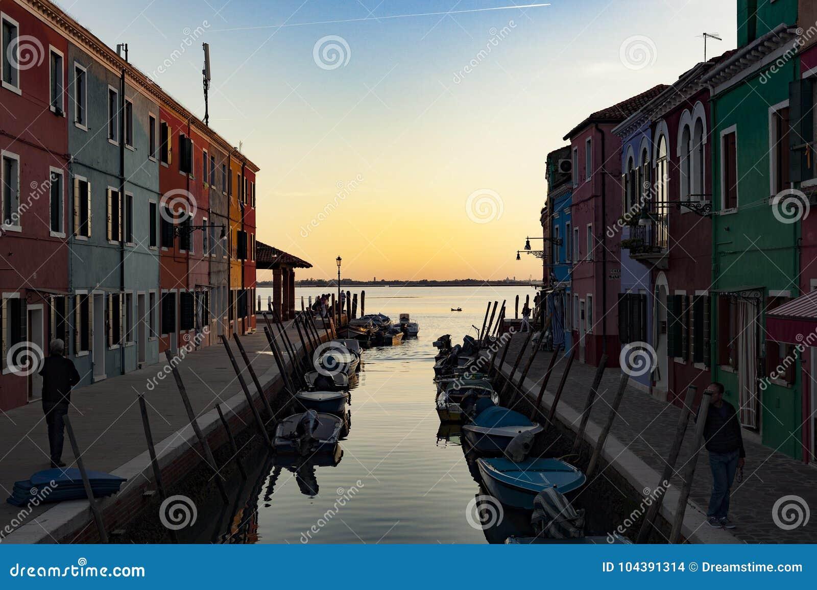 Village de pêcheurs de Burano, Venise Italie