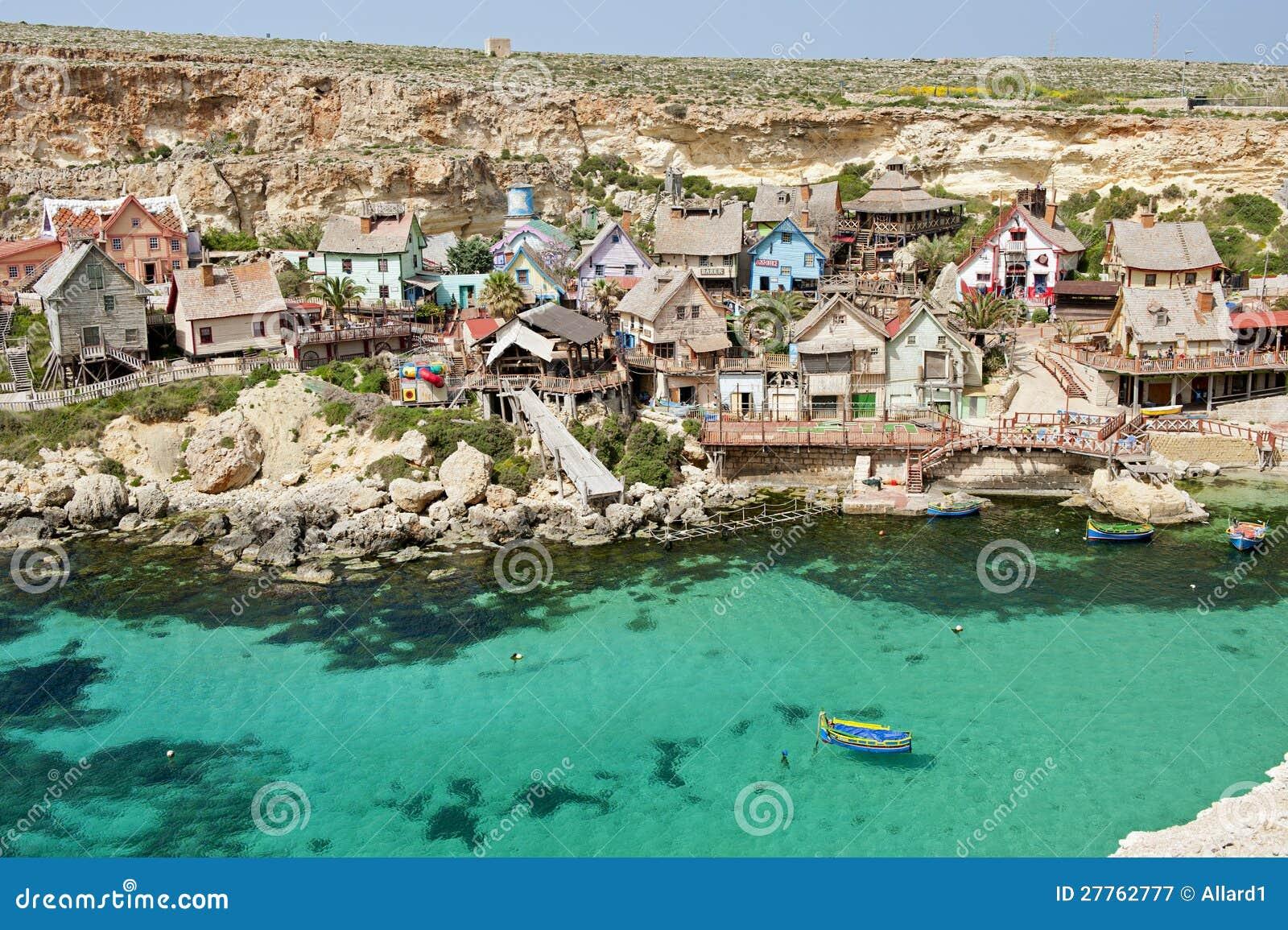 Village de Popeye, Malte