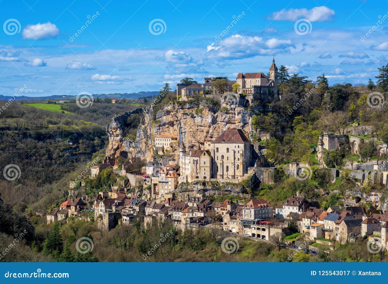 Village de Rocamadour, un bel héritage SI de culture du monde de l UNESCO