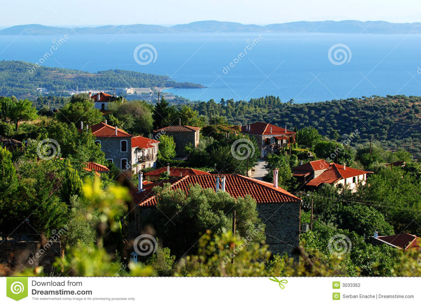 Village en Grèce