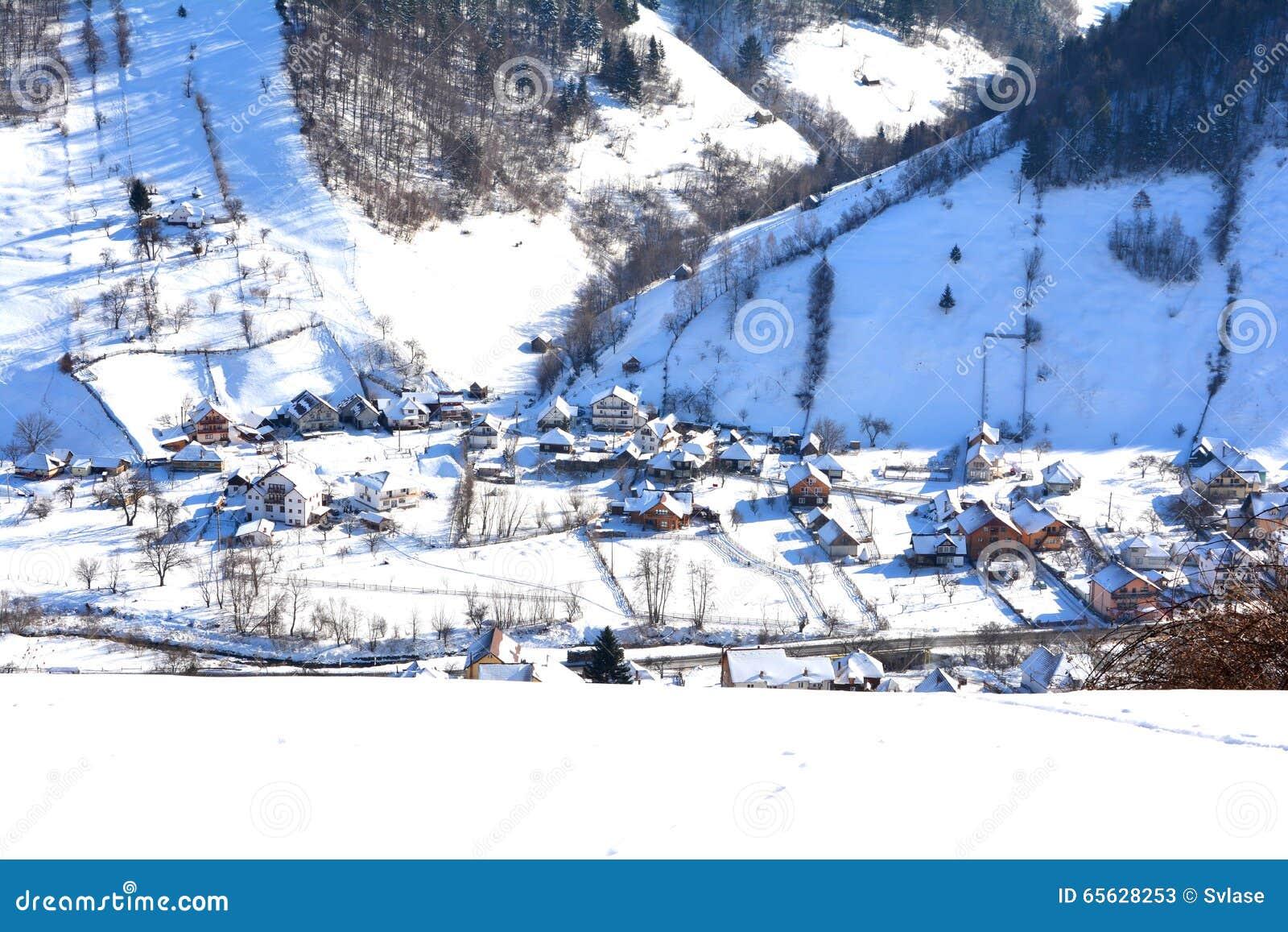 Village en Rucar-son de passage