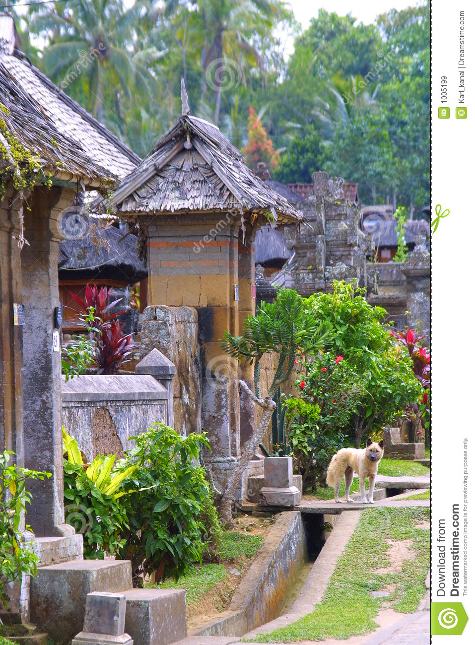 the village at garden royalty free stock images image