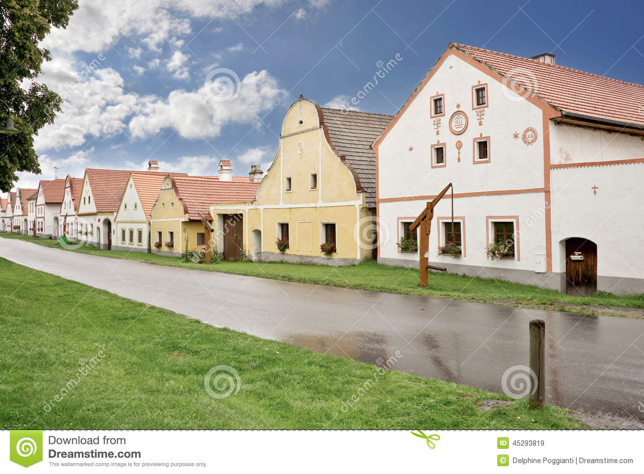Village of Holasovice, Bohemia