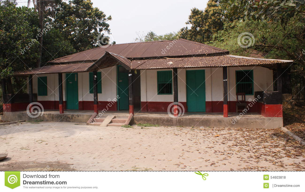 A village house in bangladesh stock photo image of for Home design in village